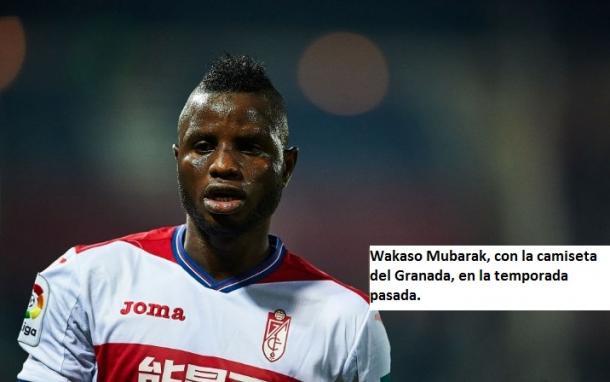 Wakaso Mubarak, como jugador del Granada CF. Fuente: Aitor Alcalde (gettyimages.net)