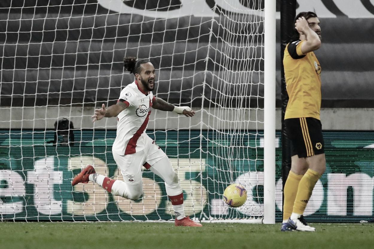 Walcott anotó el gol para el Southamton. Foto: Premier League.