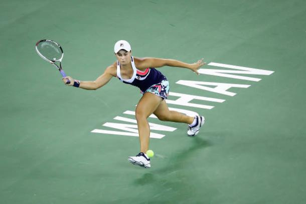 Barty impressed to reach what will be the biggest match of her career (Getty/Wang He)