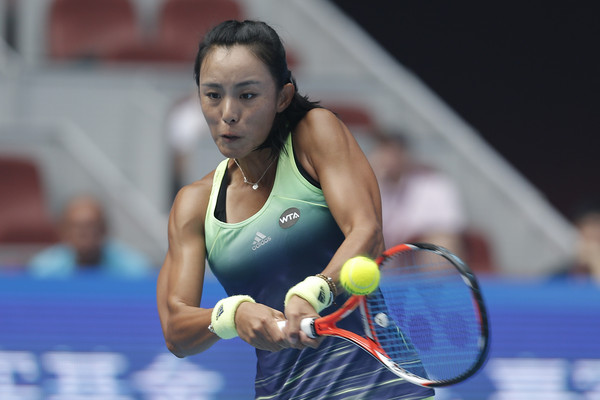 Wang Qiang claims one of her biggest victories in her career | Photo: Lintao Zhang/Getty Images AsiaPac