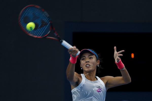 Wang Qiang recently defeated Monica Niculescu in Shenzhen this year | Photo: Lintao Zhang/Getty Images AsiaPac