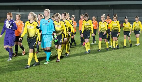 It's been a busy month for Watford. | Image credit: FA WSL