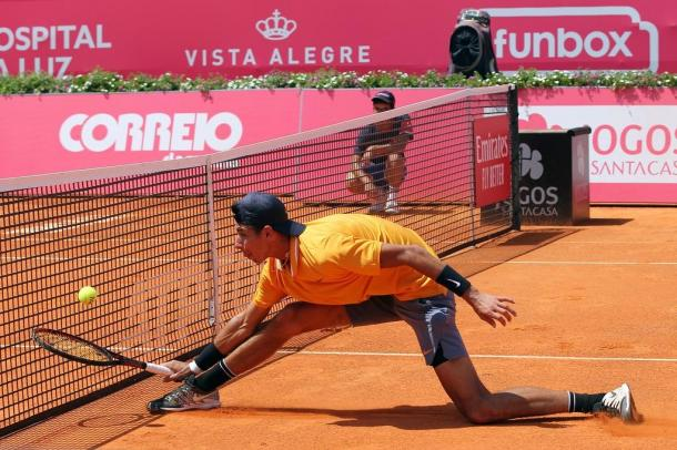 Alexei Popyrin on his way to the main draw at the Millennium Estoril Open. (Photo by Millennium Estoril Open)