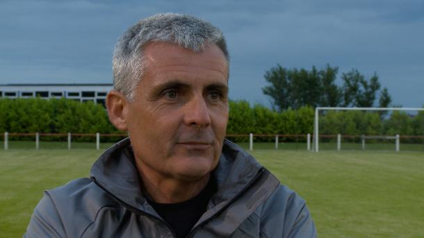 Sunderland under-21 coach Andy Welsh after their 1-1 draw with Seaham | Photo: safc.com