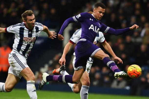 Alli scored a wonderful opener against the Baggies in December | Photo: Getty Images