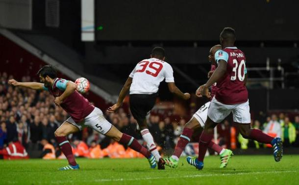 Rashford scored a wonderful opener verus West Ham last month | Photo: Getty