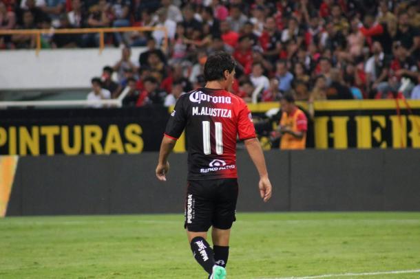 (Matías Alustiza marcó 8 goles esta temporada | Foto: Omar Villagrana / VAVEL)