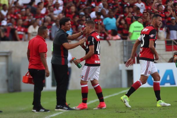 Matheus vem aproveitando chances com Zé Ricardo | Foto: Gilvan de Souza/Flamengo