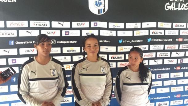 Alma López, Karla Pérez y Andrea Romer (Foto: Bruno Becerra | VAVEL México)