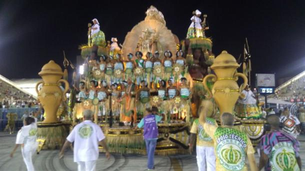 Império da Tijuca chegando à dispersão (Foto: VAVEL Brasil)