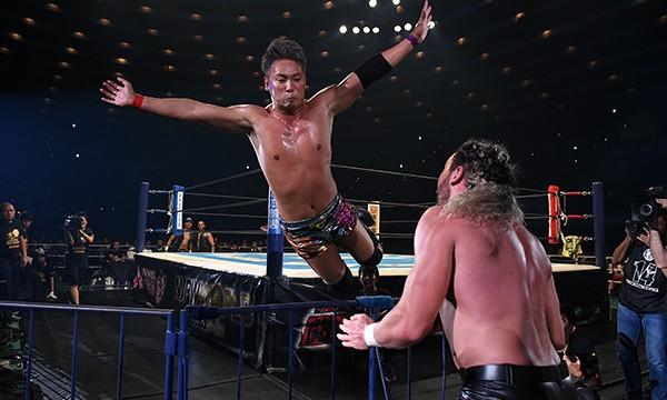 Omega vs. Okada G1 Climax 2017. Foto: NJPW