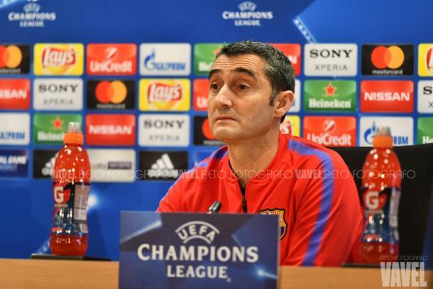 El técnico se niega a menospreciar a la Roma. | Fotografía: Weberth de Souza (VAVEL.com)