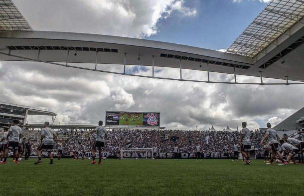 (Foto: Rodrigo Gazzanel/ Agência Corinthians)