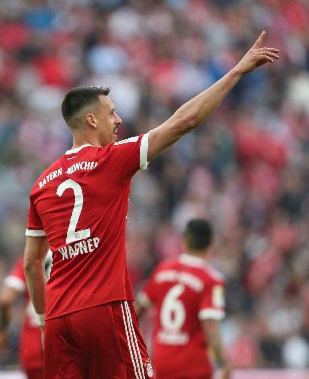Wagner anotó doblete frente al Borussia Mönchengladbach la fecha pasada  | Foto: @FCBayernEs