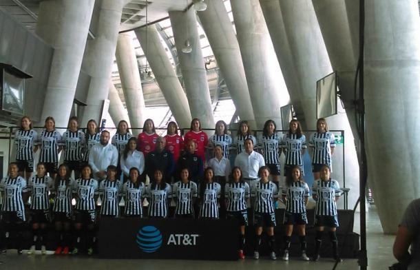 Rayadas posando para la foto oficial del Apertura 2018 | Foto: Juan Carlos Monroy