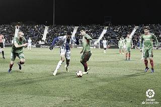 Alavés en el último partido   Foto: La Liga