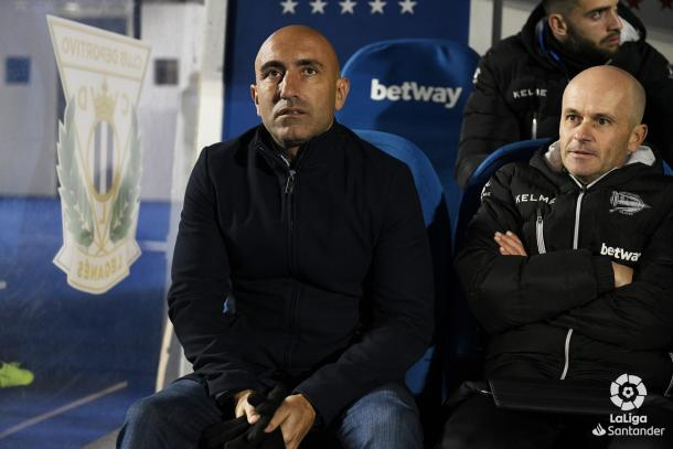 Abelardo, entrenador de Alavés   Foto: La Liga
