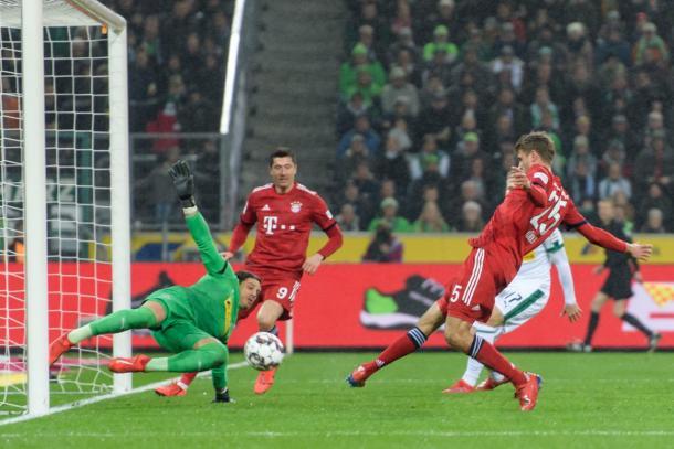 Gol do Muller (Foto: Divulgação / FC Bayern)