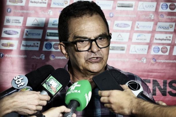 Francisco Diá se diz confiante para a decisão (Foto: divulgação/Campinense)