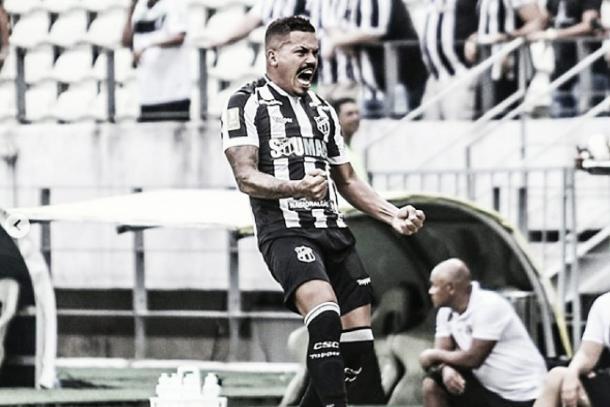Thiago Carleto mantém uma boa fase desde a chegada ao Ceará (Foto: divulgação)