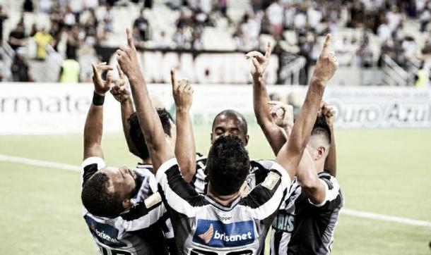Time do Ceará espera um desempenho superior em relação ao ano passado (Foto: divulgação/Ceará SC)