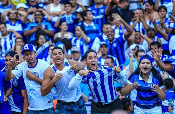 Torcida azulina voltará ao Trapichão em jogo de Série A (Foto: Divulgação/CSA)