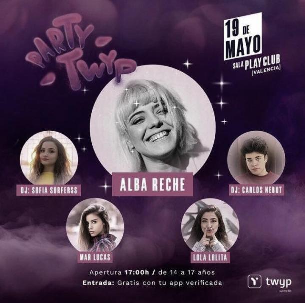 Alba Reche actuará en acústico   Foto: Sala Play Club