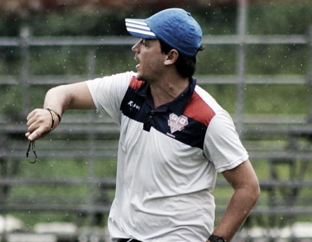 Fernando Diniz no comando do Audax (Foto: Gabriela Montesano/Audax)