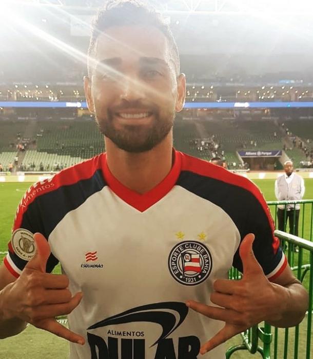 Gilberto fez o 22º gol no ano pelo Bahia (Foto: Divulgação / EC Bahia)