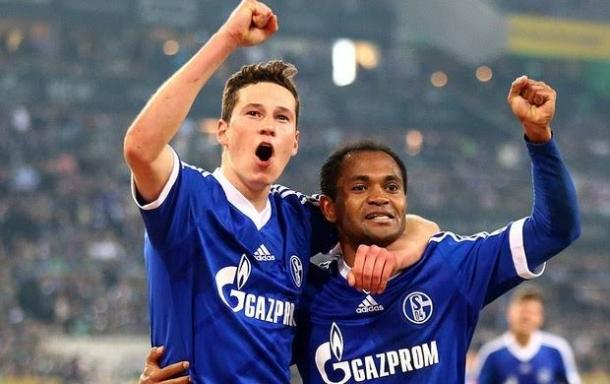 Raffael jogou junto com Draxler no Schalke 04 (Foto: Reprodução / S04)