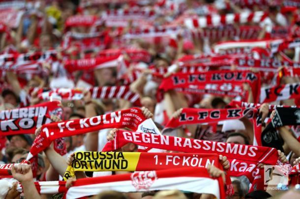 O último jogo do Colônia em casa foi há 476 dias (Foto: Divulgação / Bundesliga)