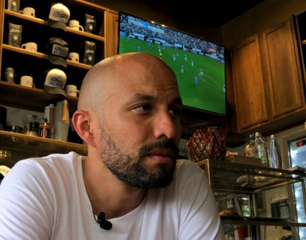 Jaime Barrientos, Fundador y socio del Café Los Libertadores / Fotografía: Sebastián Areiza