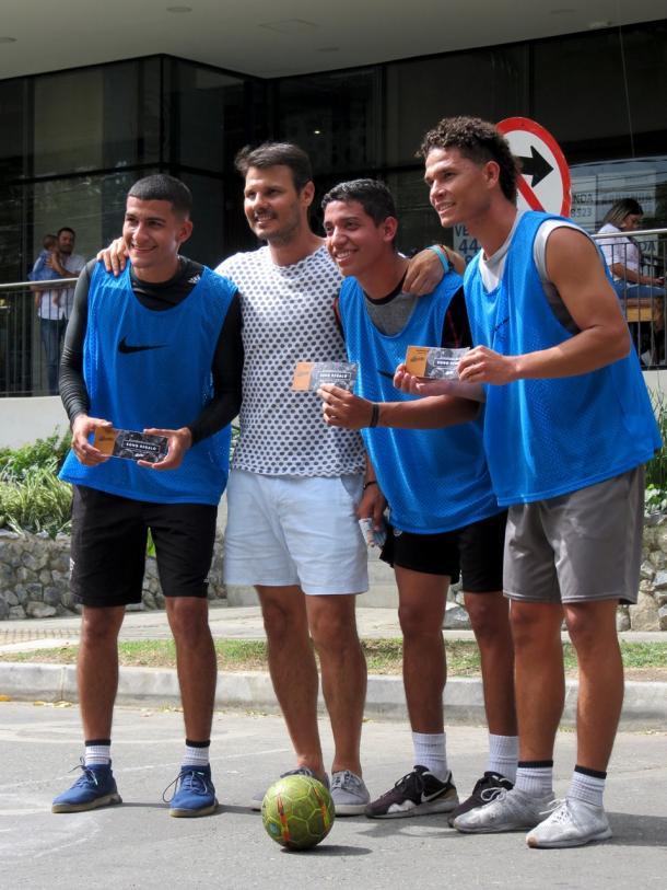 El equipo ganador del torneo / Fotografía: Sebastián Areiza