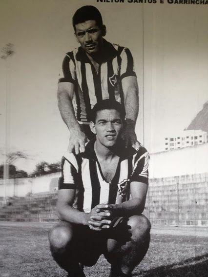 Nilton Santos e Mané Garrincha