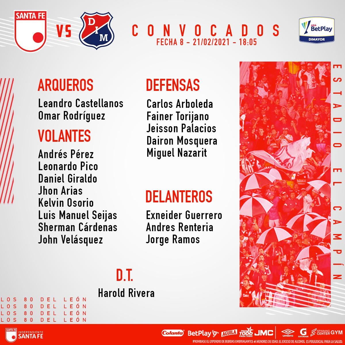 Foto: Independiente Santa Fe