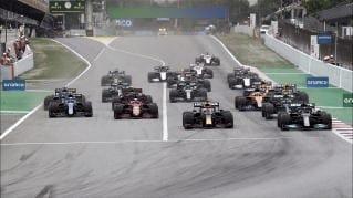 Salida del Gran Premio (Fuente: f1.com)