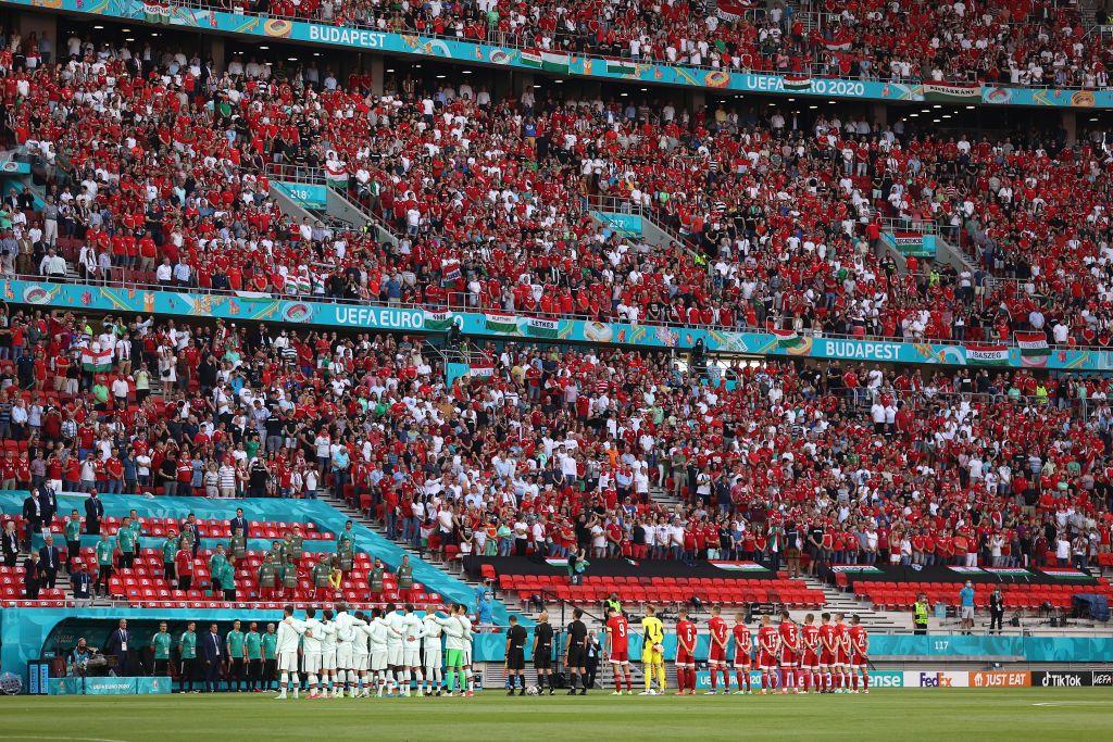 El Puskás Aréna albergó a 60.000 espectadores / FOTO: UEFA