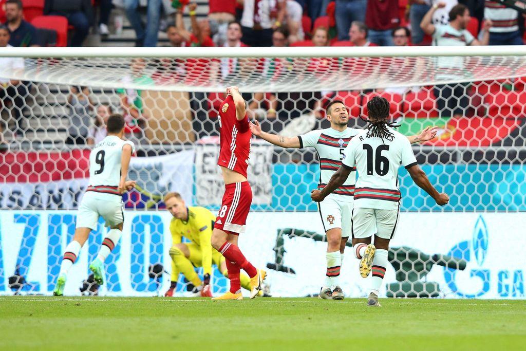 Guerreiro celebra el 0-1 / FOTO: UEFA