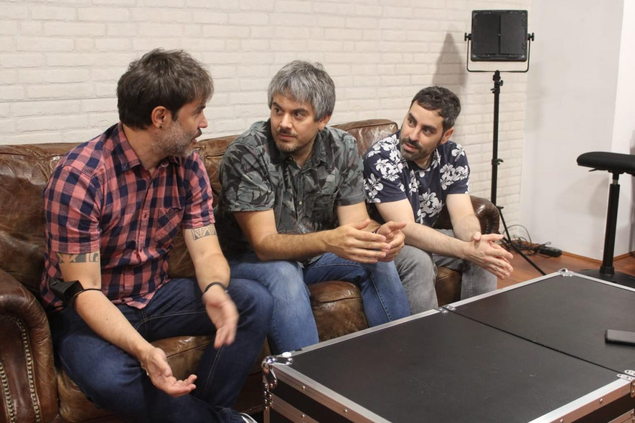 Despistaos durante la entrevista // Foto: Lydia Vázquez Muñoz