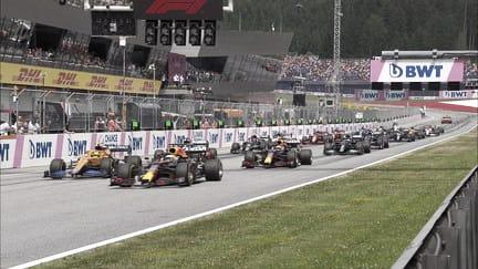 Salida del GP de Austria. (Fuente: f1.com)