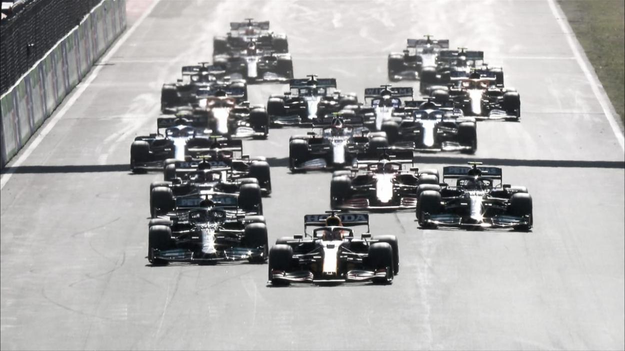 Salida del Gran Premio. (Fuente: f1.com)