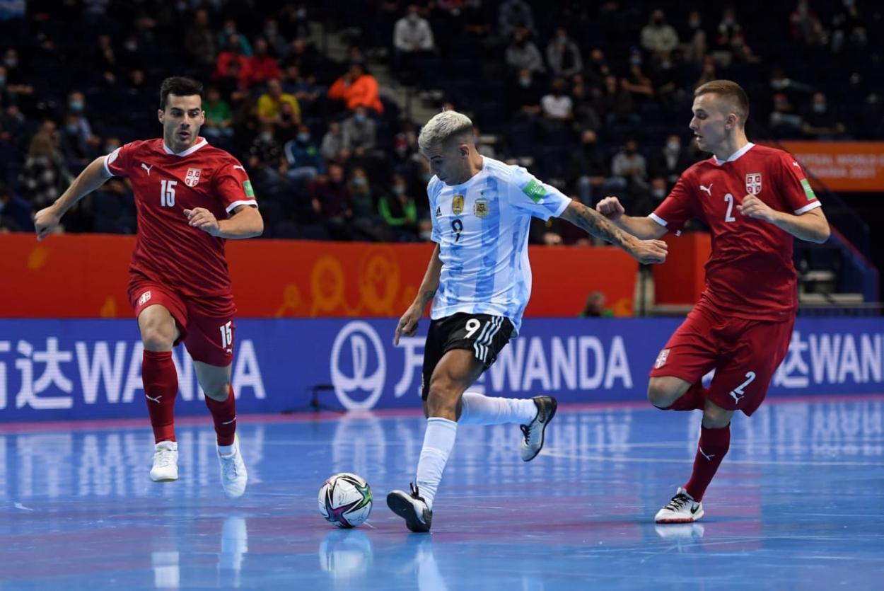 Cristian Borruto, máximo goleador argentino de los mundiales. Foto: Selección Argentina.