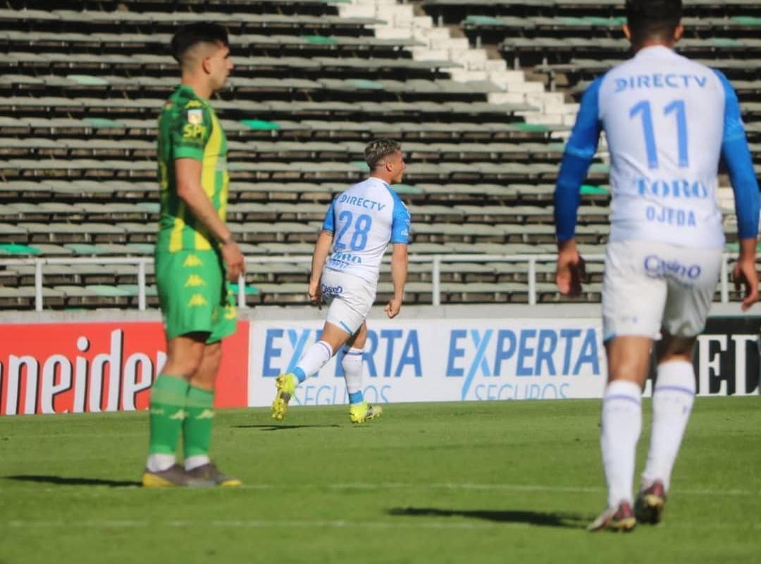 Elías López, el lateral tombino de gran presente. Foto: Prensa CDGCAT.