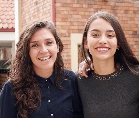 Natalia Gaitán e Isabella Echeverri, medallistas de oro en los Juegos Panamericanos de Lima 2019. Imagen: feminafutbol.com