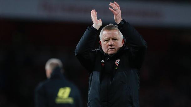 Chris Wilder entrenador. Foto: Sheffield United