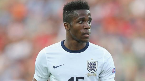 Could Wilfried Zaha earn a recall to the England squad? Photo: Getty images