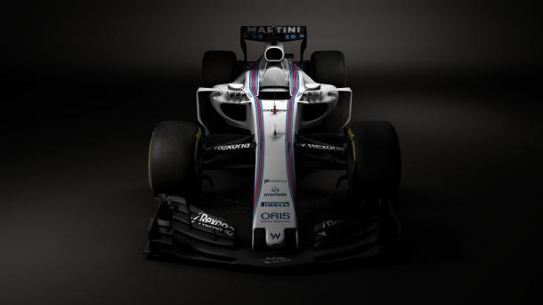 A Williams divulgou fotos do carro de 2017 (Foto: Divulgação/Williams Martini Racing)