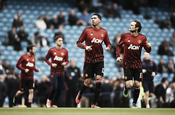 Smalling and Blind formed a surprisingly formidable partnership | Photo: Laurence Griffiths/Getty Images Sport