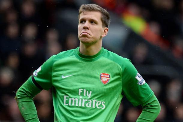 Wojciech Szczesny during his time at Arsenal | Photo: AFP