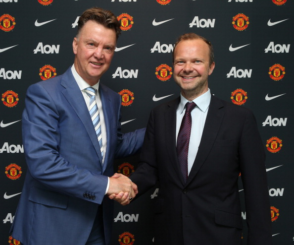 Ed Woodward was oblivious to van Gaal's philosophy | Photo: John Peters/Manchester United